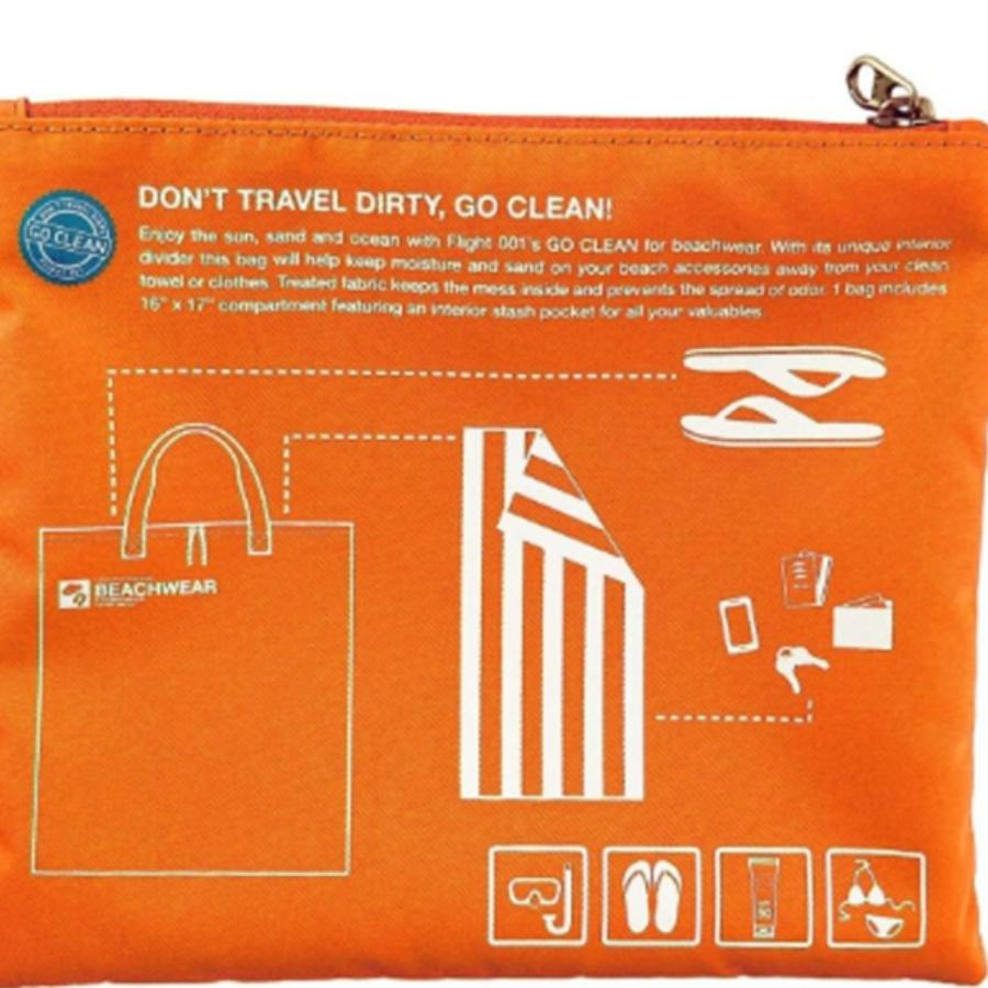Go Clean Beachwear Orange