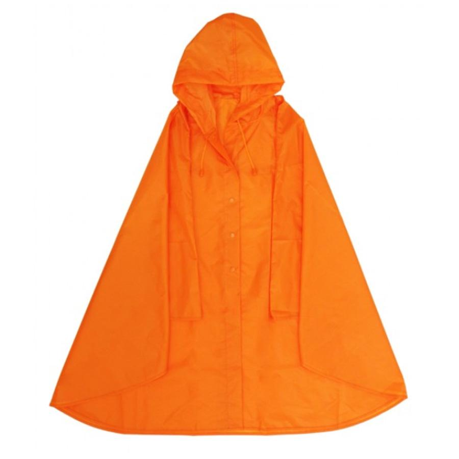 ORANGE EXPAND A PONCHO