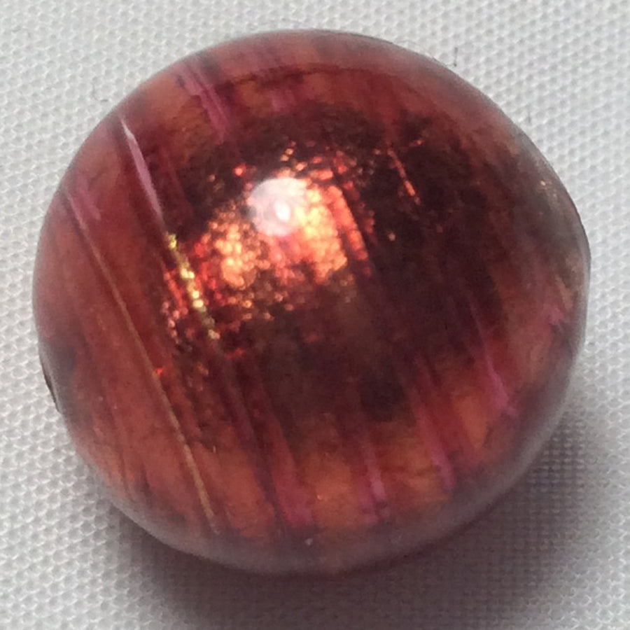 Orange Glass Marble