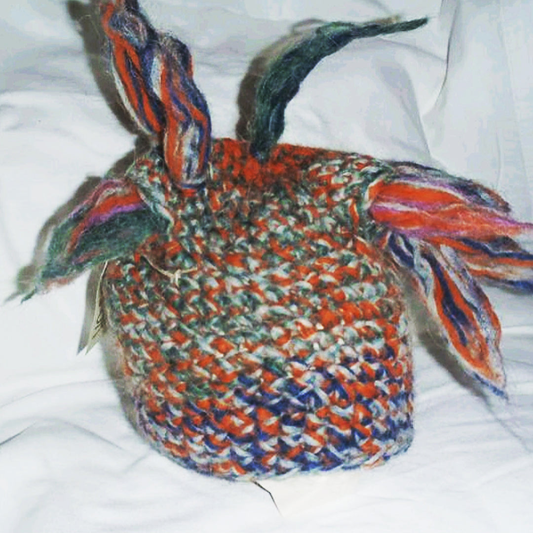 Orange & Blue MultiFlare Hat