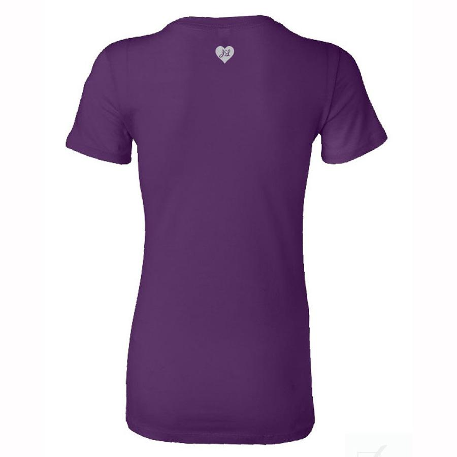This is My Happy Hour Women's Purple T-Shirt