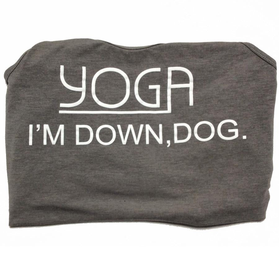 I'm Down Dog Slouch Tank