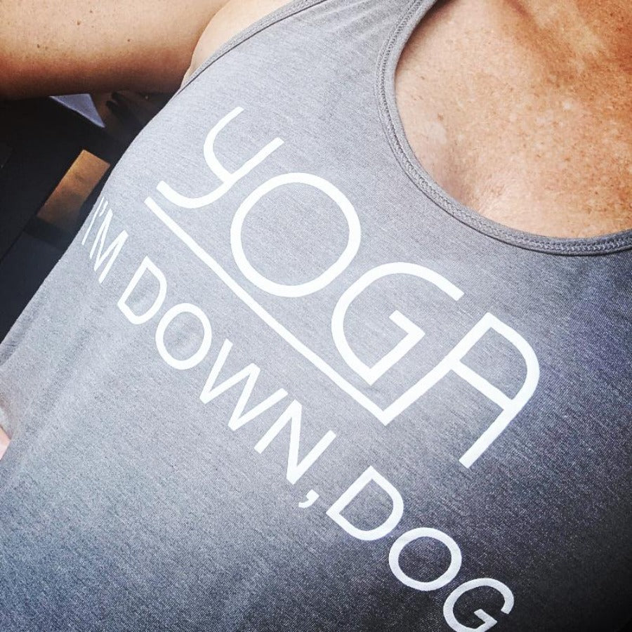 Yoga, I'm Down Dog Slouch Tank