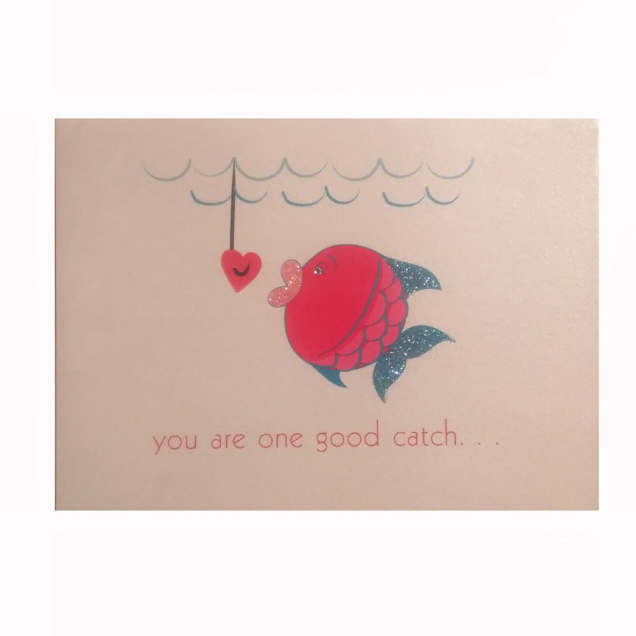 Good Catch Greeting Card