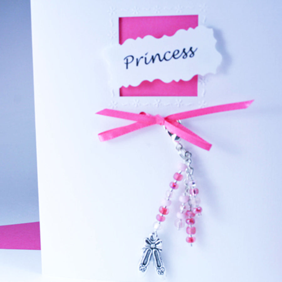 Princess Greeting Card & Charm