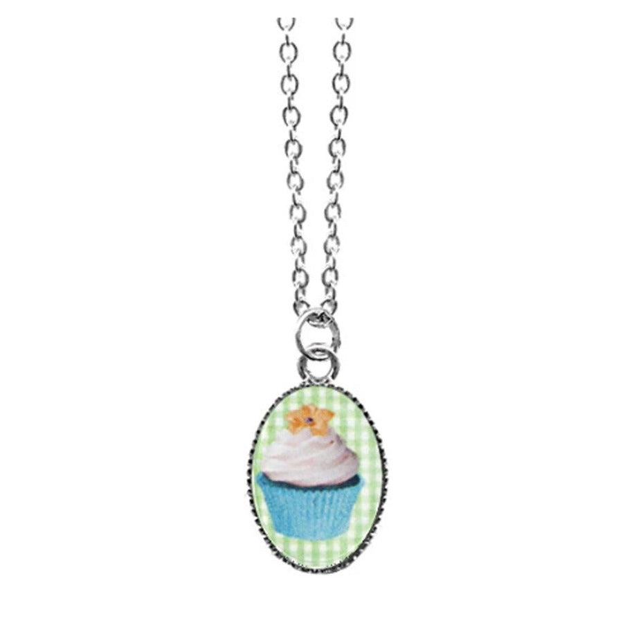 Cupcake Dainty Necklace