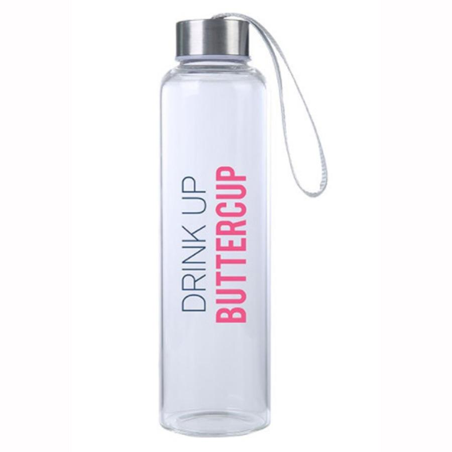 Drink Up Buttercup M20 Glass Hydro Water Bottle