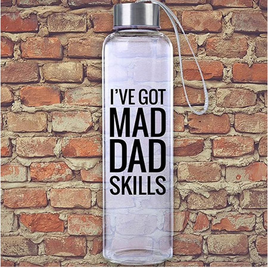 Mad Dad Skills M20 Glass Hydro Water Bottle