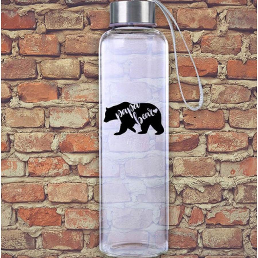 Papa Bear M20 Glass Hydro Water Bottle