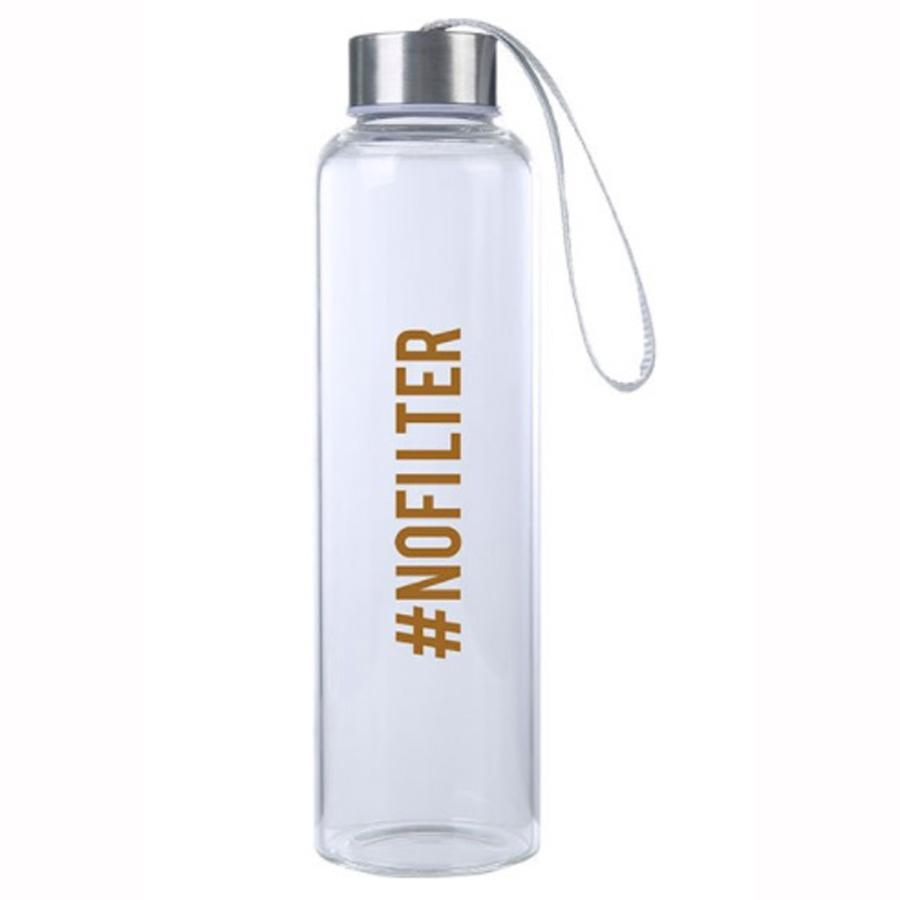 #NoFilter M20 Glass Hydro Water Bottle