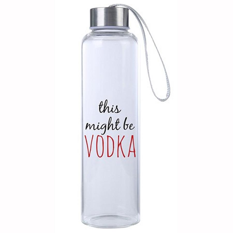 This Might Be Vodka M20 Glass Hydro Water Bottle