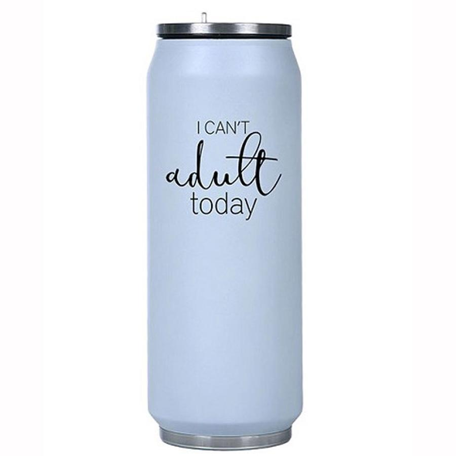 I Can't Adult Today Insulated Water Bottle