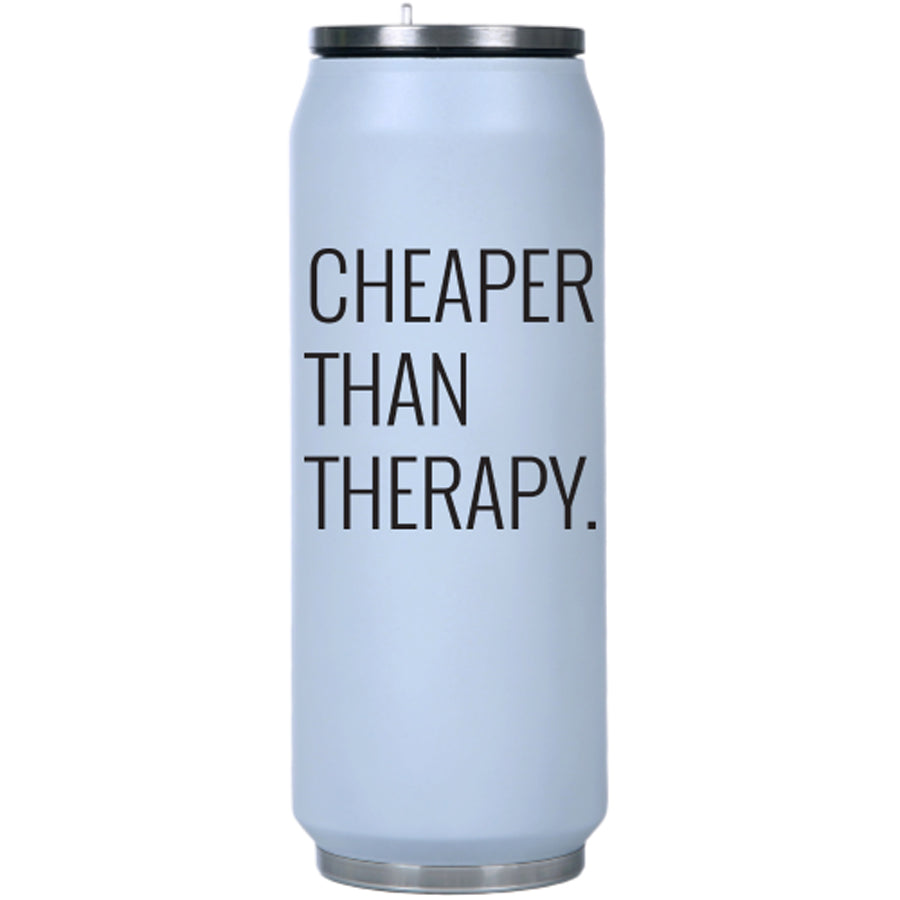 Cheaper Than Therapy Insulated Water Bottle