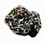 Animal Print Cheetah Leopard Scrunchies