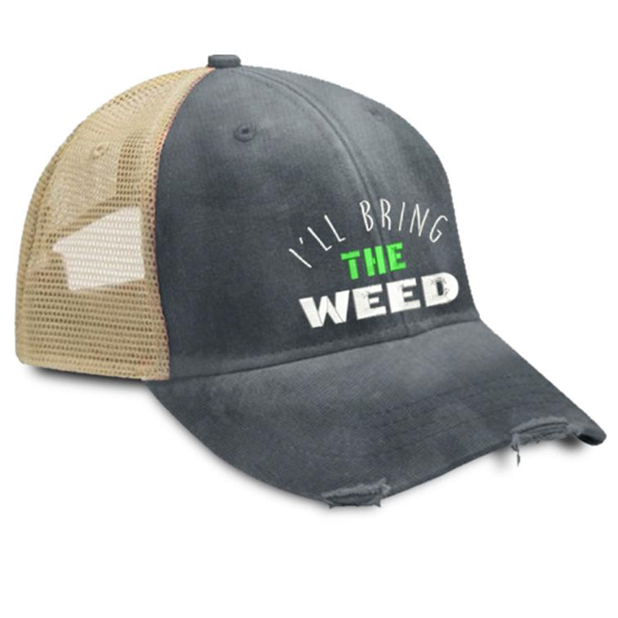 Ill-Bring-The-Weed-Trucker-Hat-Piper-Lou-In-Canada