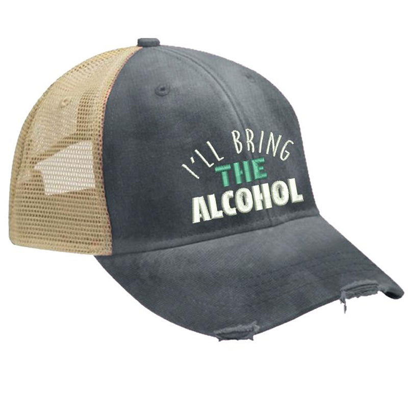I'LL BRING THE WEED TRUCKER HAT