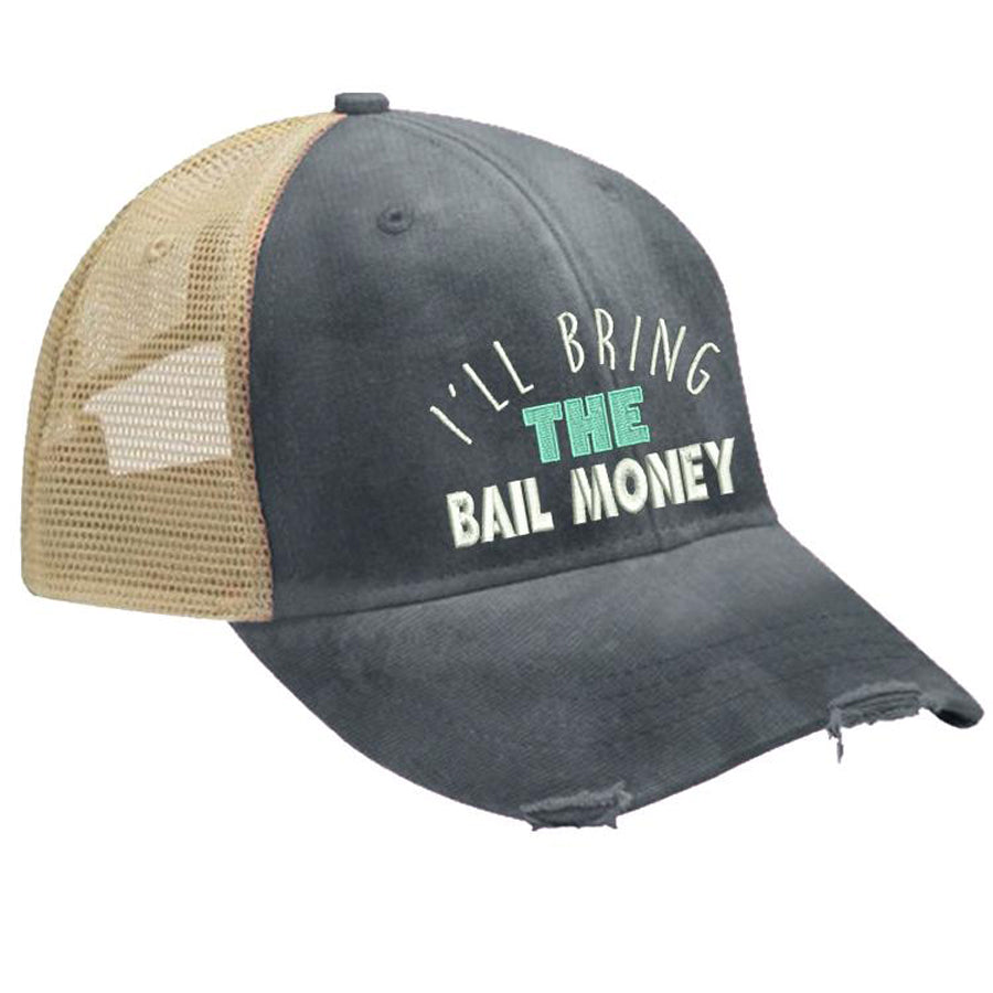 Ill-Bring-The-Bail-Money-Trucker-Hat-Piper-LouIll-Bring-The-Bad-Decisions-Trucker-Hat-Piper-Lou-In-Canada