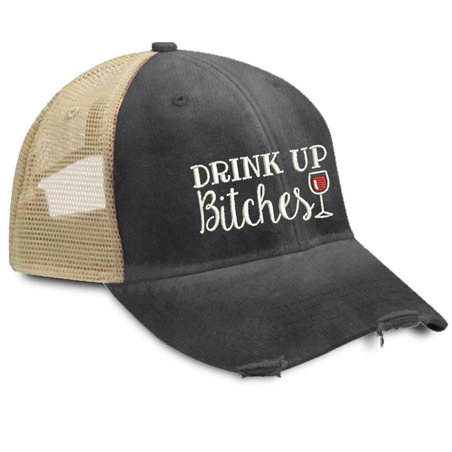 Drink-Up-Bitches-Wine-Trucker-Hat-Piper-Lou-In-Canada
