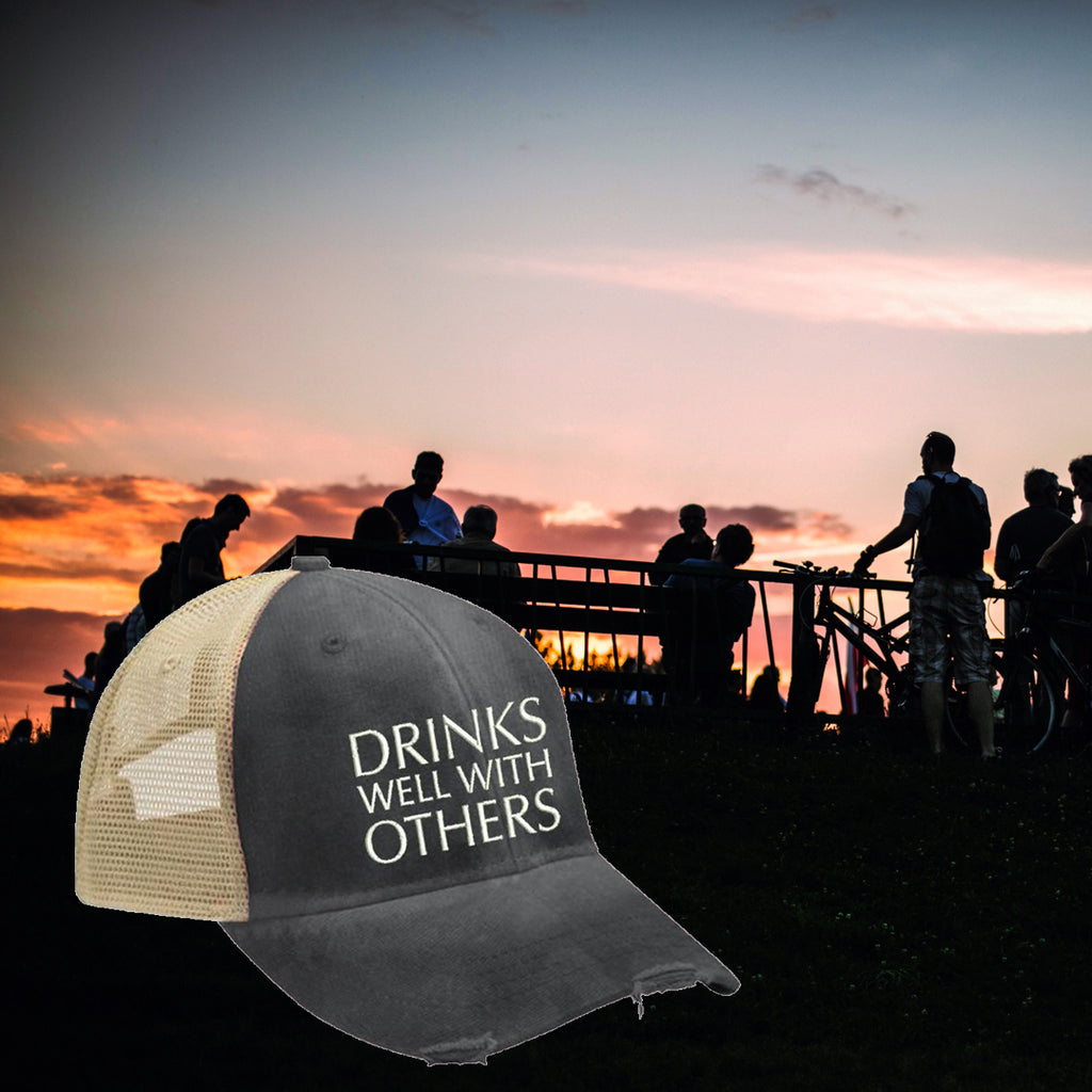 Drinks-Well-With-Others-Trucker-Hat-Piper-Lou-In-Canada