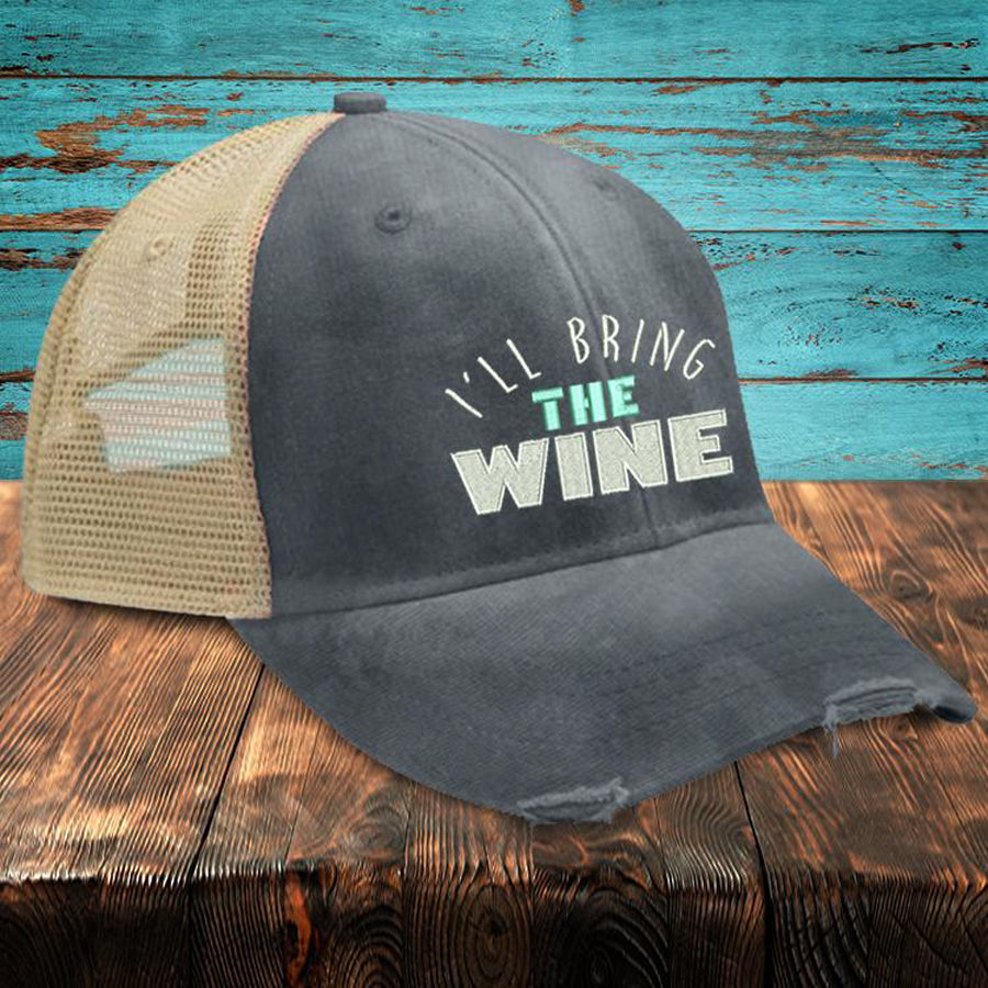 Ill-Bring-The-Wine-Trucker-Hat-Piper-Lou-In-Canada