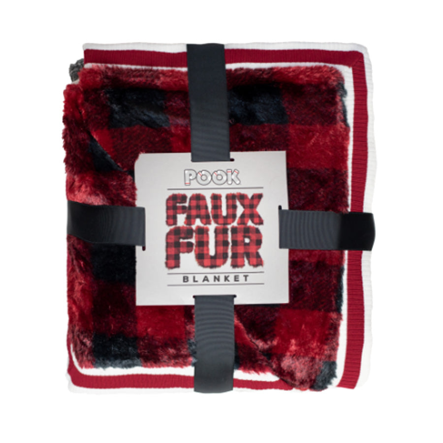 Pook Faux-Fur Blanket