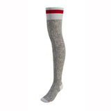 Pook-Socks-Thigh-High-Red-Stripe-in-Toronto