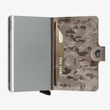 SECRID Mini Wallet Crisple Camo
