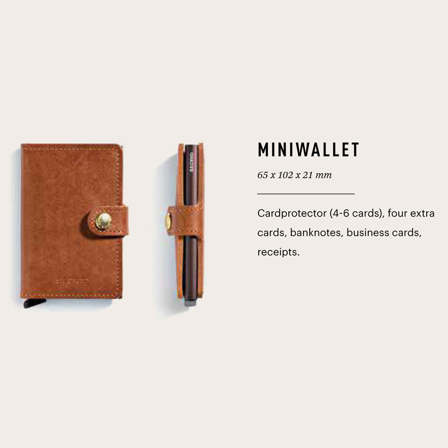 SECRID Mini Wallet Matte