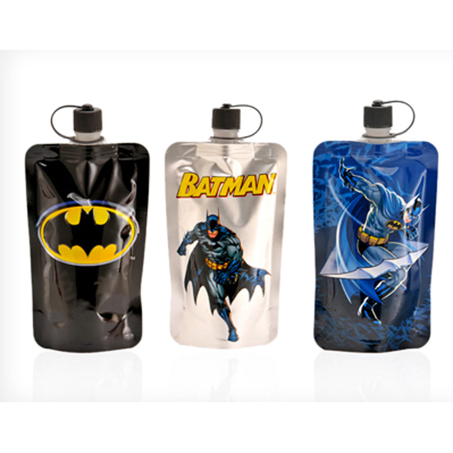 Batman 3 Pack - Portable Reusable Drinkware