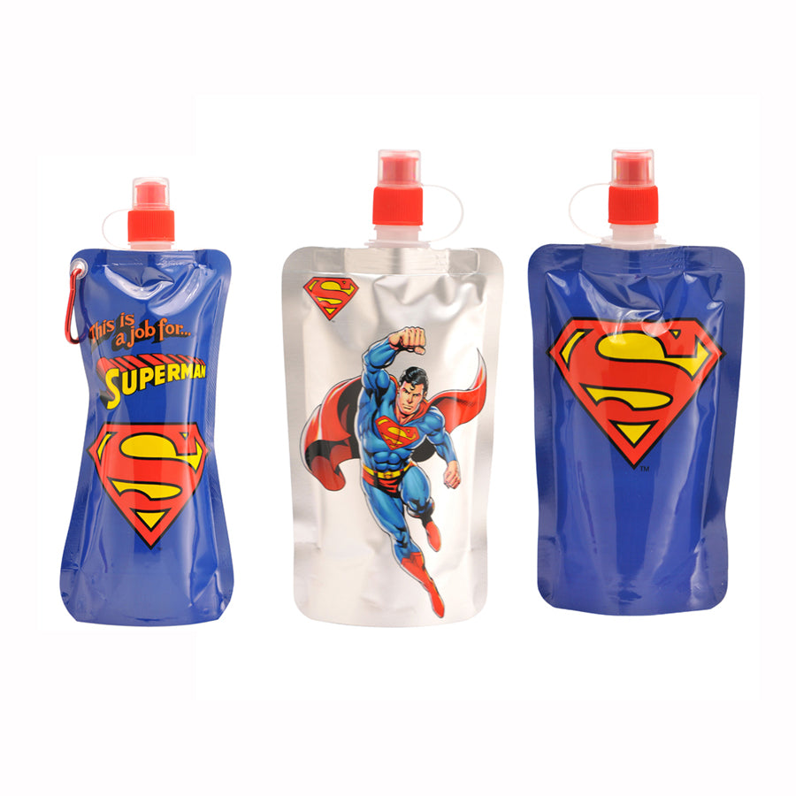 Superman 3 Pack - Portable Reusable Drinkware