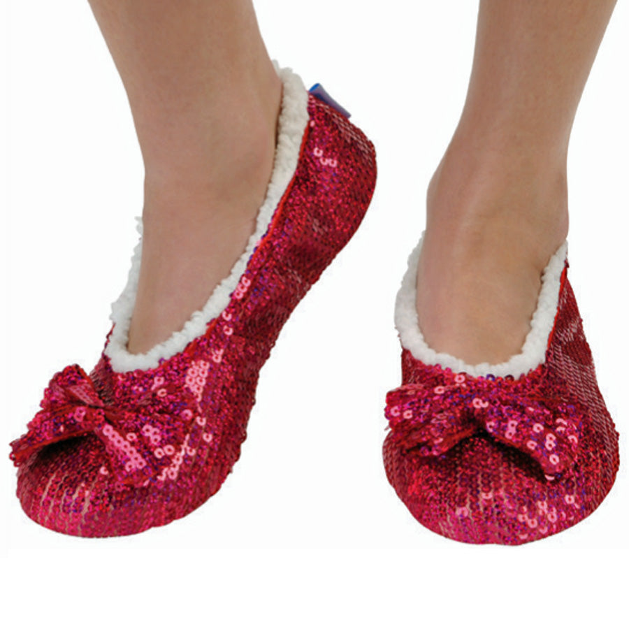 Raspberry Brilliance Bling Metallic Snoozies
