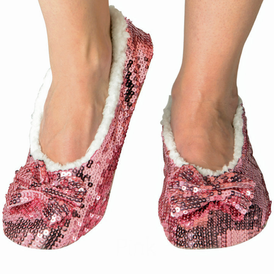Pink Classic Bling Metallic Snoozies