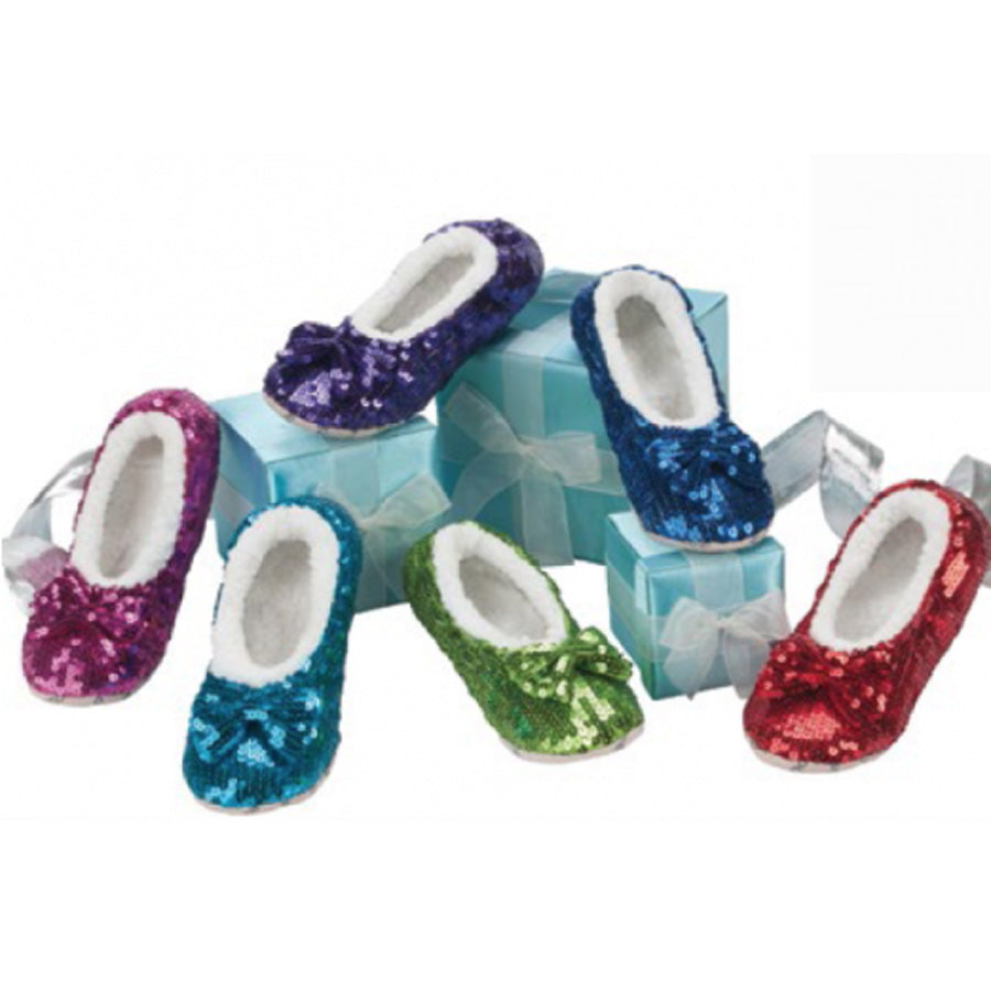 Kids Bling Snoozies Slippers