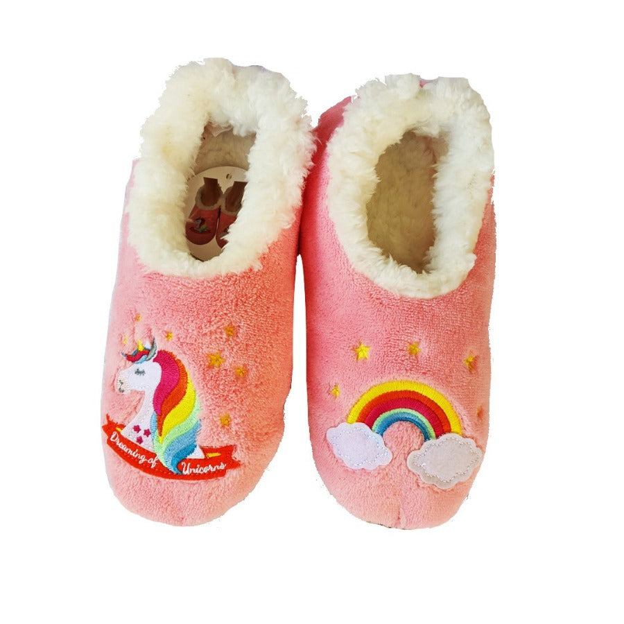Snoozies-Slippers-Canada-Toronto-Unicorns
