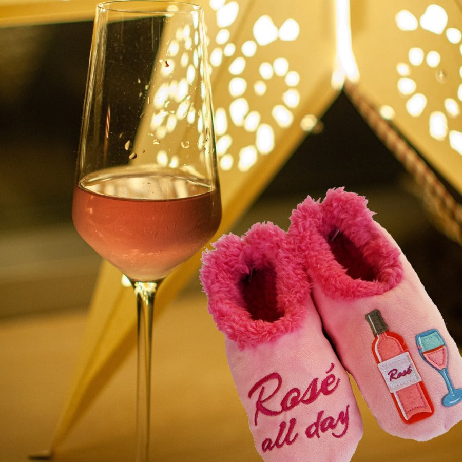 Rosé All Day Slippers