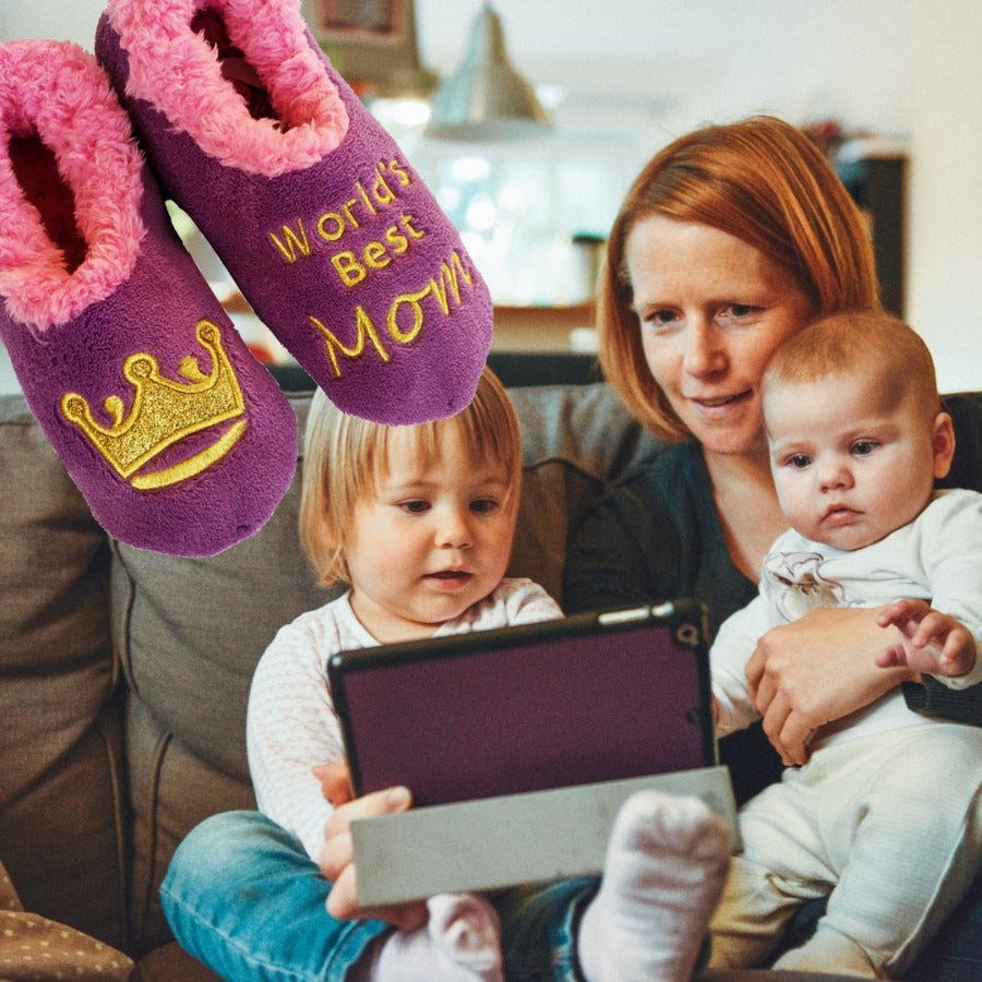 Snoozies-Slippers-Canada-Toronto-Worlds-Best-Mom