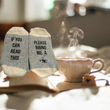 Bring Me a Cup of Tea Unisex Cotton Socks