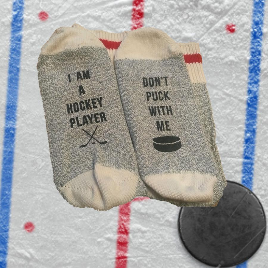 I am a Hockey Player Unisex Cotton Socks