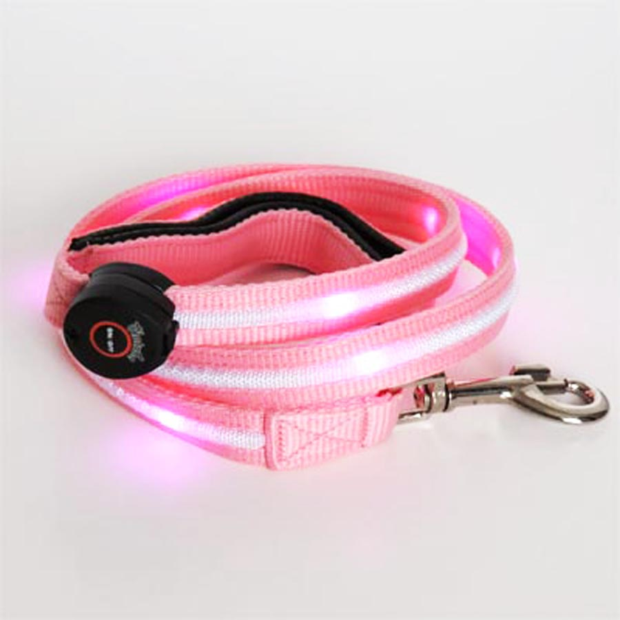 Spots Light LED Leash - Medium Dog