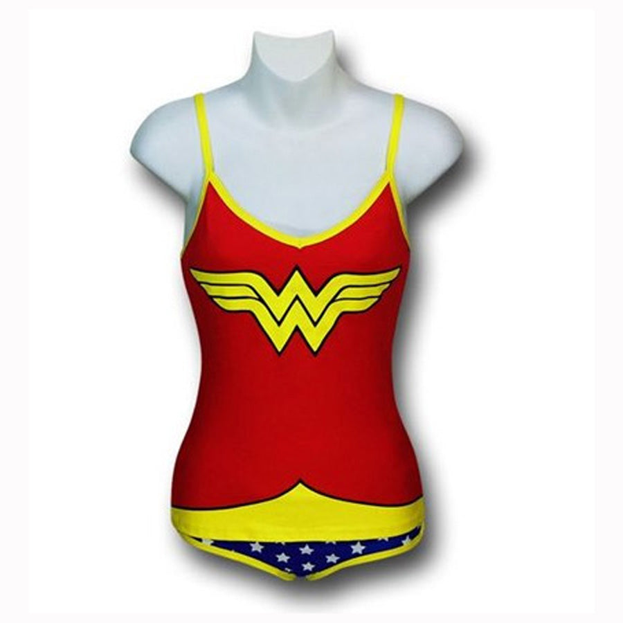 Wonder Women Glow in the Dark Cami & Panty Set