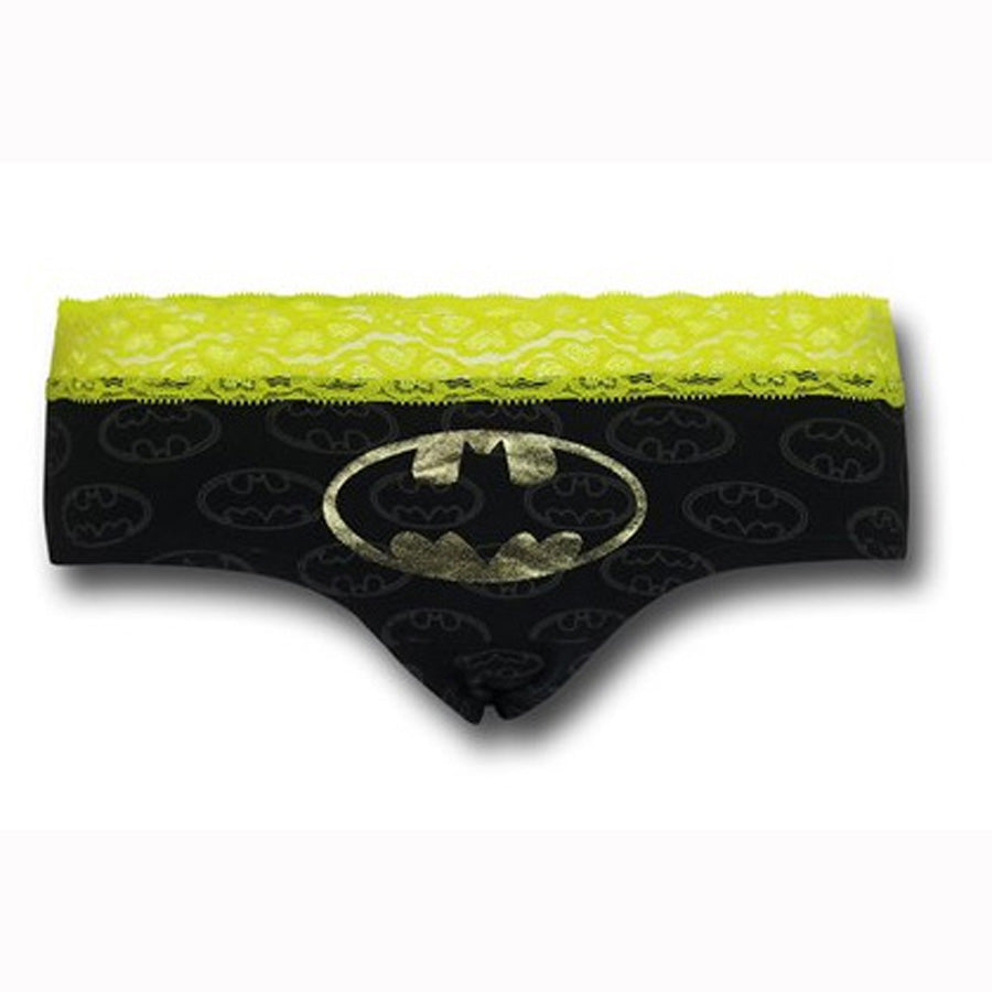 Batman Lace Foil Panty