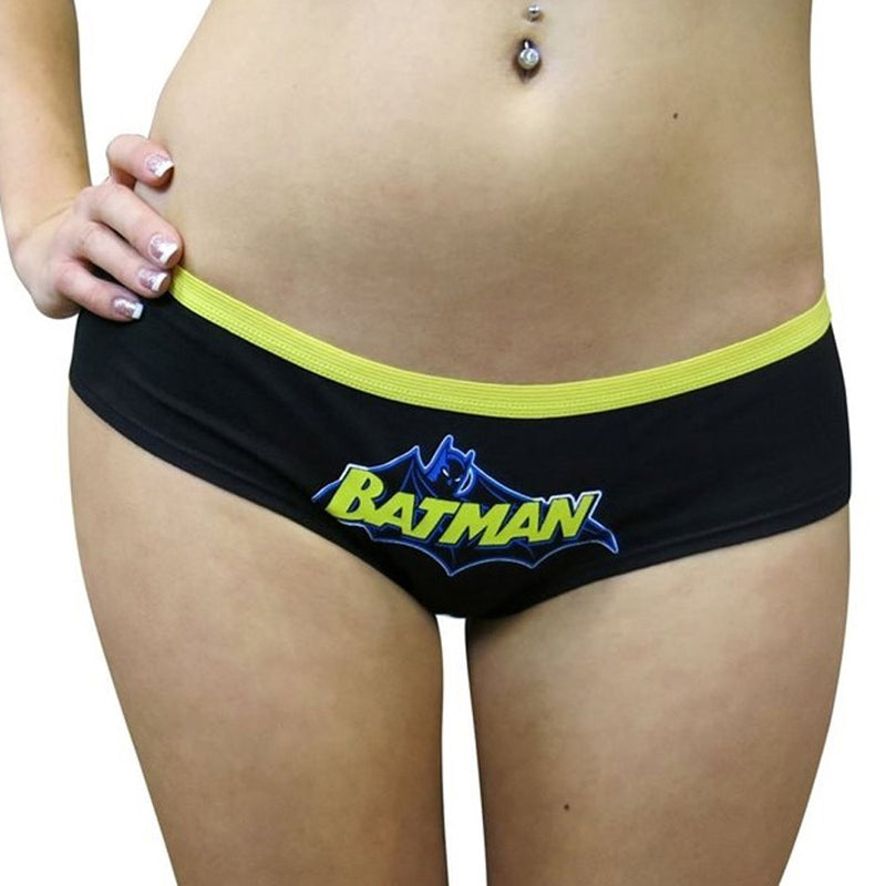 Batman Bat Symbol Glow In The Dark Panty
