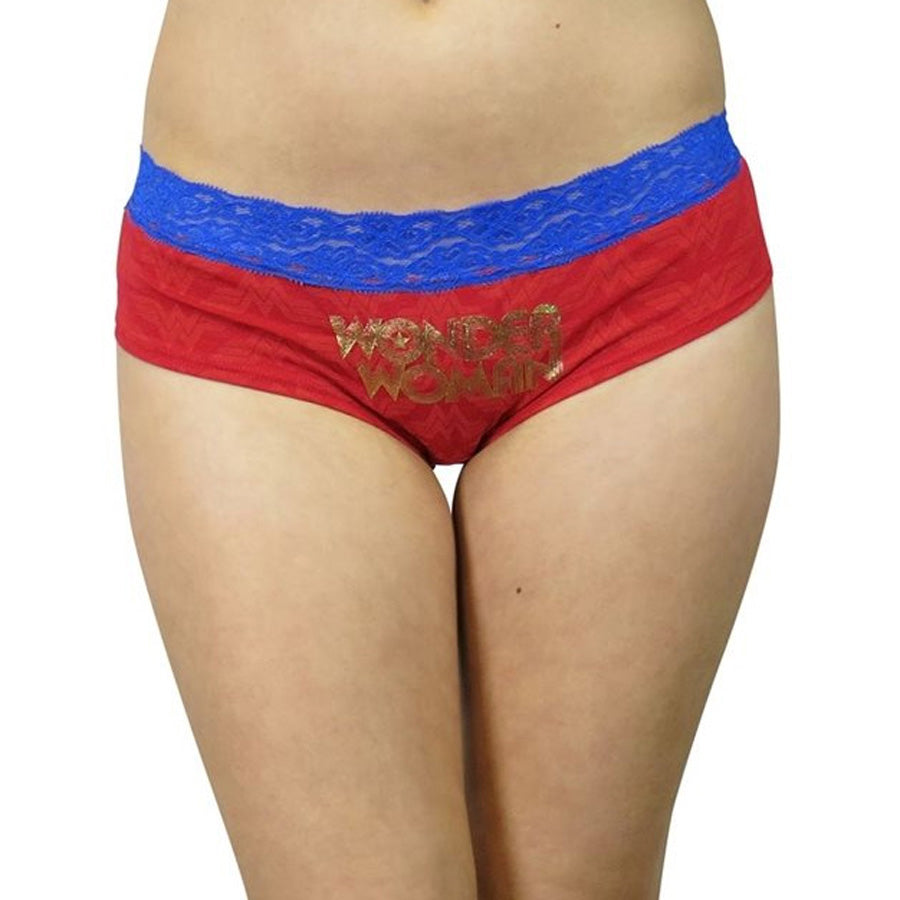Wonder Woman Gold Foil Panty