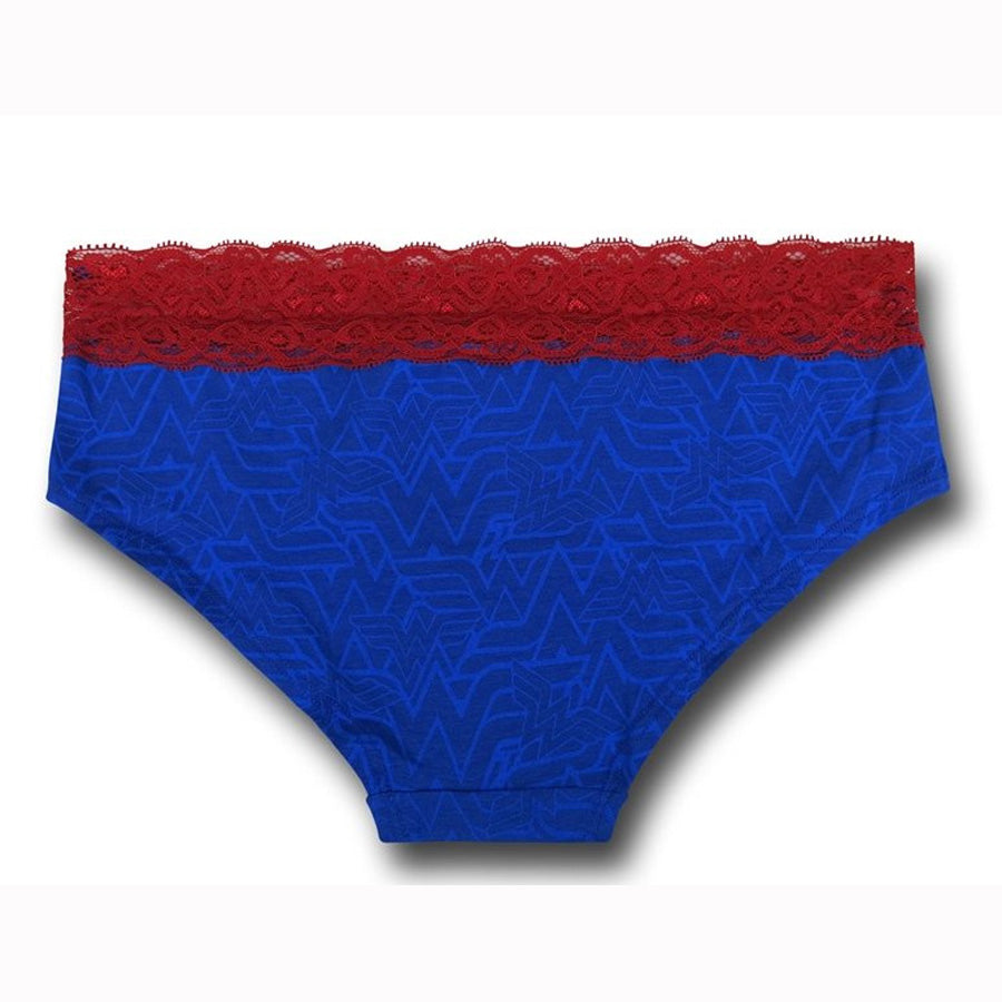 attractive & durable hot-selling authentic reasonably priced Wonder Woman Symbol Gold Foil Panty