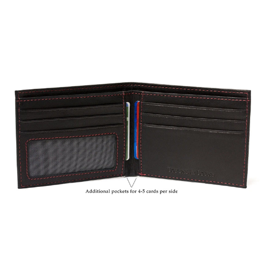 Montreal Canadians Game Used NHL Hockey Uniform Wallet