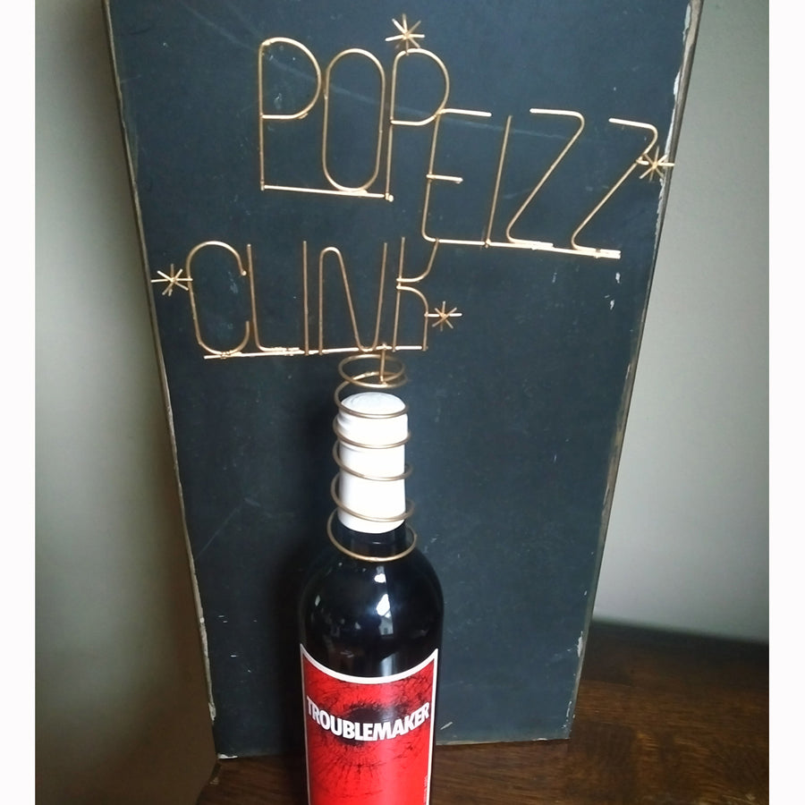 Pop Fizz Clink Bottle Topper