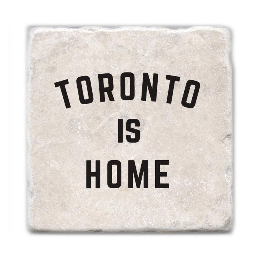 Toronto is Home Marble Coaster