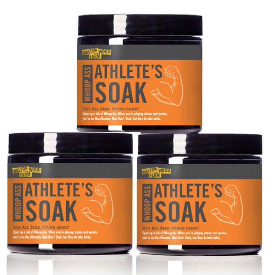 Whoop A** Athlete's Soak