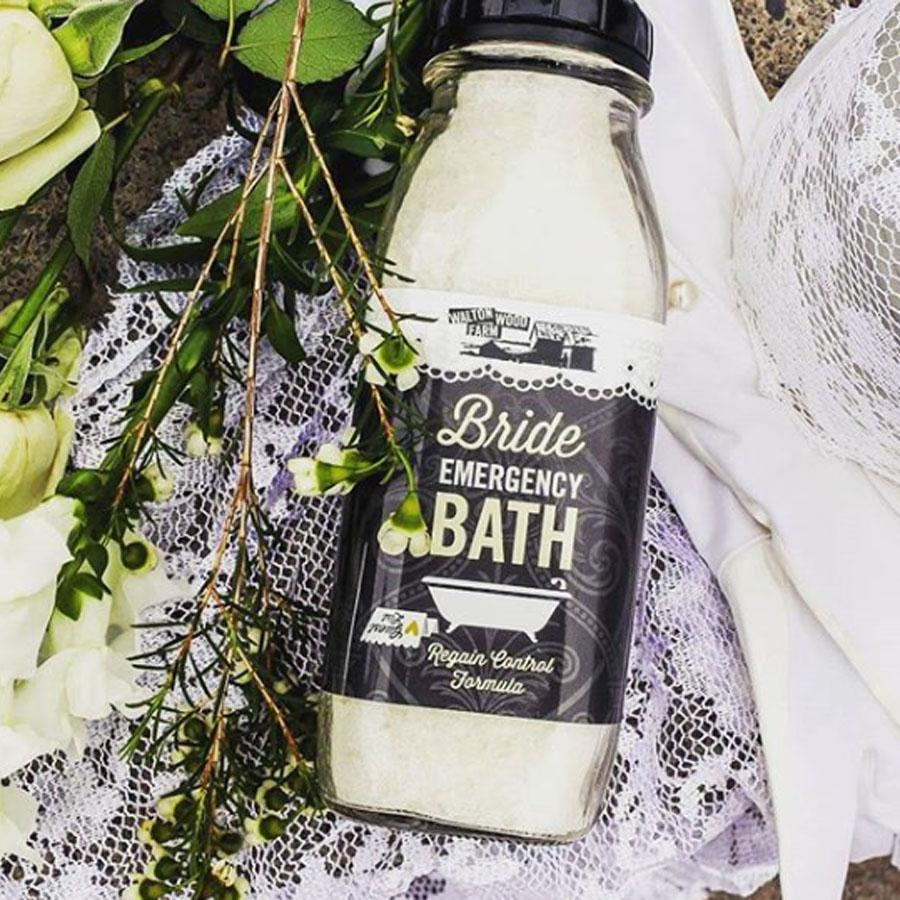 Bride Emergency Bath