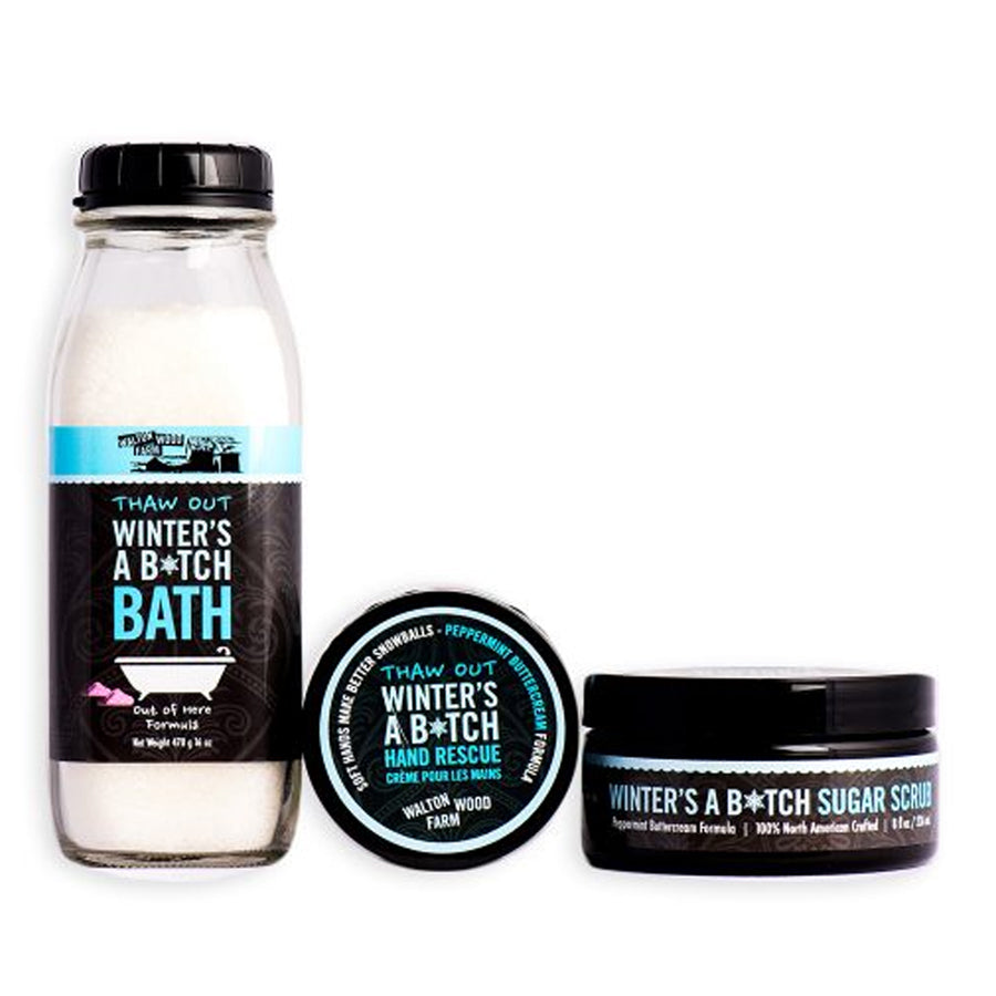 Winter's a B*tch Bath & Body Gift Set